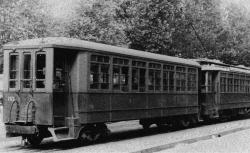 [Vetture della tramvia Milano-Gallarate
