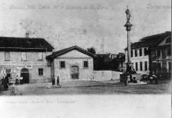Cornaredo: Piazza Vitt. Eman. II e Colonne di S. Carlo