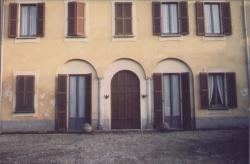 Lainate. Barbaiana. Cortile villa Bianchi - Meraviglia - Osculati di Barbaiana