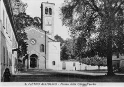 San Pietro all'Olmo: piazza vecchia [1]