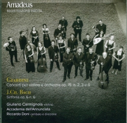 Concerti per violino e orchestra, op. 15, n. 2, 3 e 6