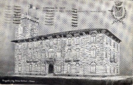 Progetto del nuovo palazzo municipale, Comune di Rho