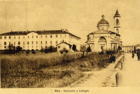 Rho, Santuario e Collegio