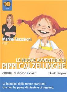 Marina Massironi legge Le nuove avventure di Pippi Calzelunghe