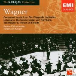 Orchestral music from De Fliegende Hollander, Lohengrin, Die Meistersinger von Nurnberg, Tannhauser & Tristan und Isolde