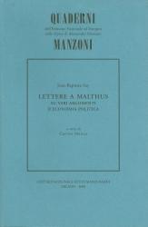 Lettere  a  Malthus  su vari argomenti d'economia politica, e specialmente sulle cause della stagnazione generale del commercio