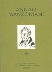 Annali manzoniani. Nuova serie. 2: 1994
