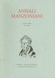 Annali manzoniani. Nuova serie. 3: 1999