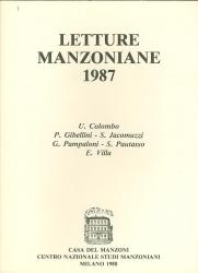 Letture   manzoniane  1987