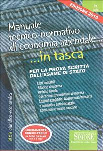 Manuale tecnico normativo di economia aziendale