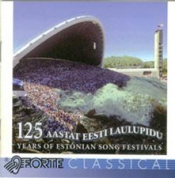 125 years of estonian song festivals