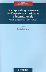La corporate governance nell'esperienza nazionale e internazionale