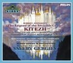 The legend of the invisible city of  Kitezh  and the maiden Fevroniya
