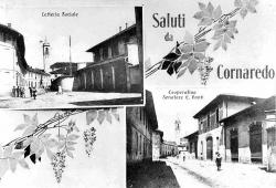 Saluti da Cornaredo: cooperativa Senatore E. Ponti, Latteria sociale