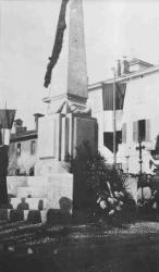 Inaugurazione monumento dei caduti a San Pietro