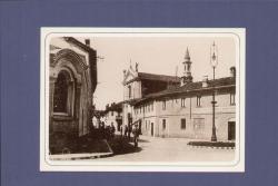 Lainate. Piazza Villoresi [Piazza Borroni] anno 1939. Piazza Dante anno 1940