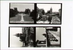 Particolare terrazza della lanterna. Veduta dall'alto della fontana di Galatea. Torre delle acque. Parte del grande mosaico [ninfeo]