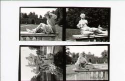 Particolari della fontana di Galatea [Flora, Polimnia]