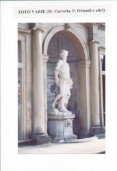 Statua del vespro, nicchia di ponente, fronte nord del Ninfeo