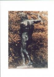 Statue in bronzo di Giove e Giunone