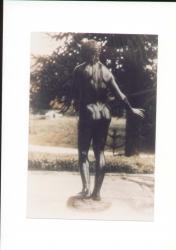 Statue in bronzo di Giunone e Plutone