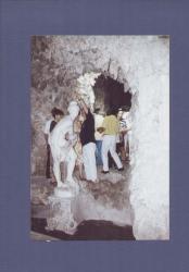 Grottone, emiciclo con Venere al bagno