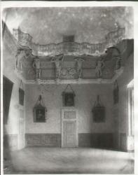 Sala da ballo del palazzo del settecento