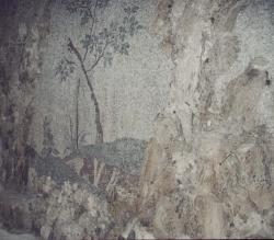 Mosaico del grottone dopo il restauro [ninfeo]