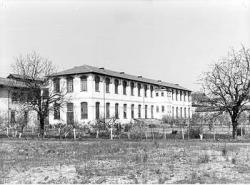 Edificio dell' ex filanda: fronte est