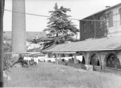 Edificio dell' ex filanda: fumaiolo e locali caldaie
