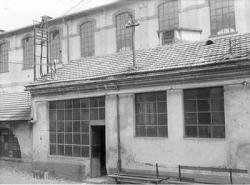 Edificio dell' ex filanda: cabina elettrica e trasformatori