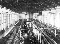 Lavoranti della filatura ai fornelli