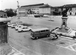 Cornaredo: lato orientale di piazza Libertà