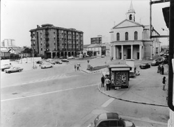 Cornaredo: lato occidentale di piazza Libertà