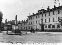 San Pietro all'Olmo: piazza Regina Margherita