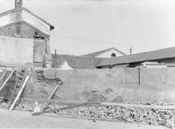 [15]: Cornaredo: abbattimento del cortile del fattore di casa Serbelloni