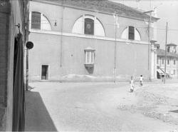 [19]: Cornaredo: abbattimento del cortile del fattore di casa Serbelloni