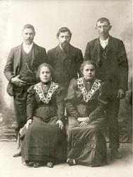 Famiglia Dubini: fratelli e sorelle