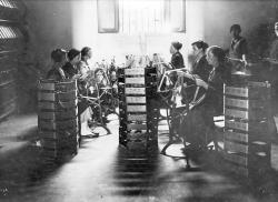 Lavoranti della filatura