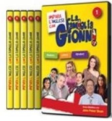 Impara l'inglese con la famiglia Gionni. 4: The rooms of the house, the verb To be, pronouns