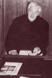 Don Giulio Rusconi anziano: ritratto