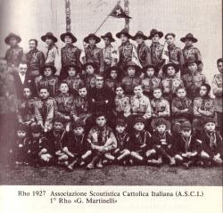 """[Rho 1927: Associazione Scoutistica Cattolica Italiana 1° Rho """"G. Martinelli"""", n. 3]"""