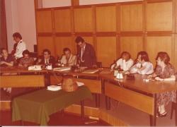 Amministrazione Cassanmagnago 1980-1981: Insediameno del Consiglio Comunale: Cassanmagnago tiene un discorso 1