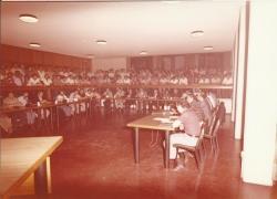 L'aula consigliare gremita, in seduta plenaria 2