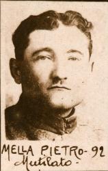 Mella Pietro, 1892, mutilato