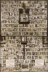 Combattenti : manifesto commemorativo del Comune di Rho della Guerra mondiale 1915-1918