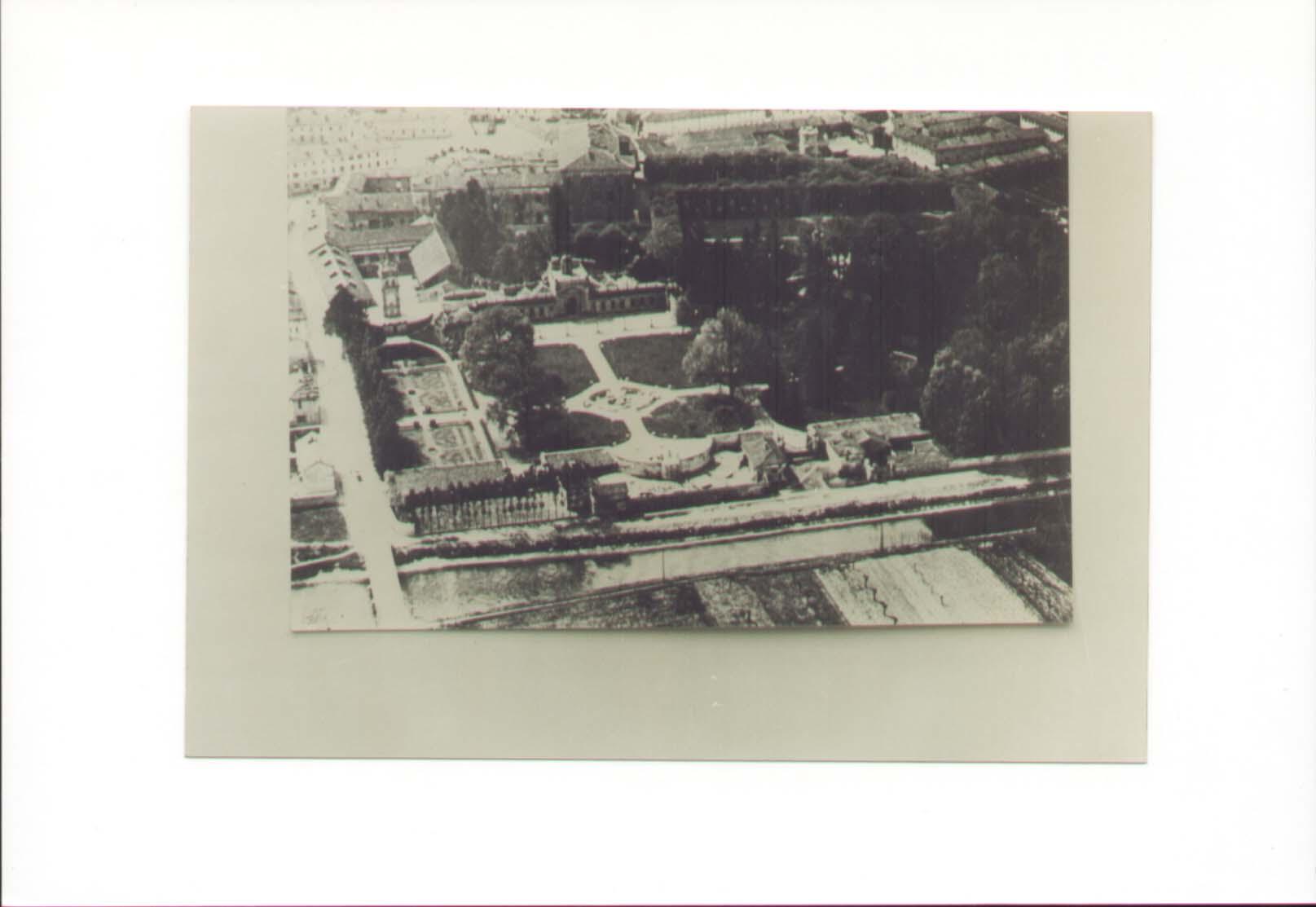 Villa Litta giardino anni 30