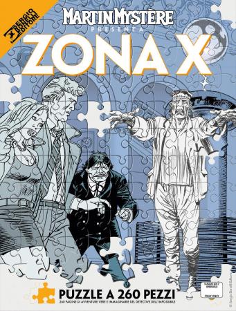 Martin Mystère presenta Zona X. Puzzle a 260 pezzi