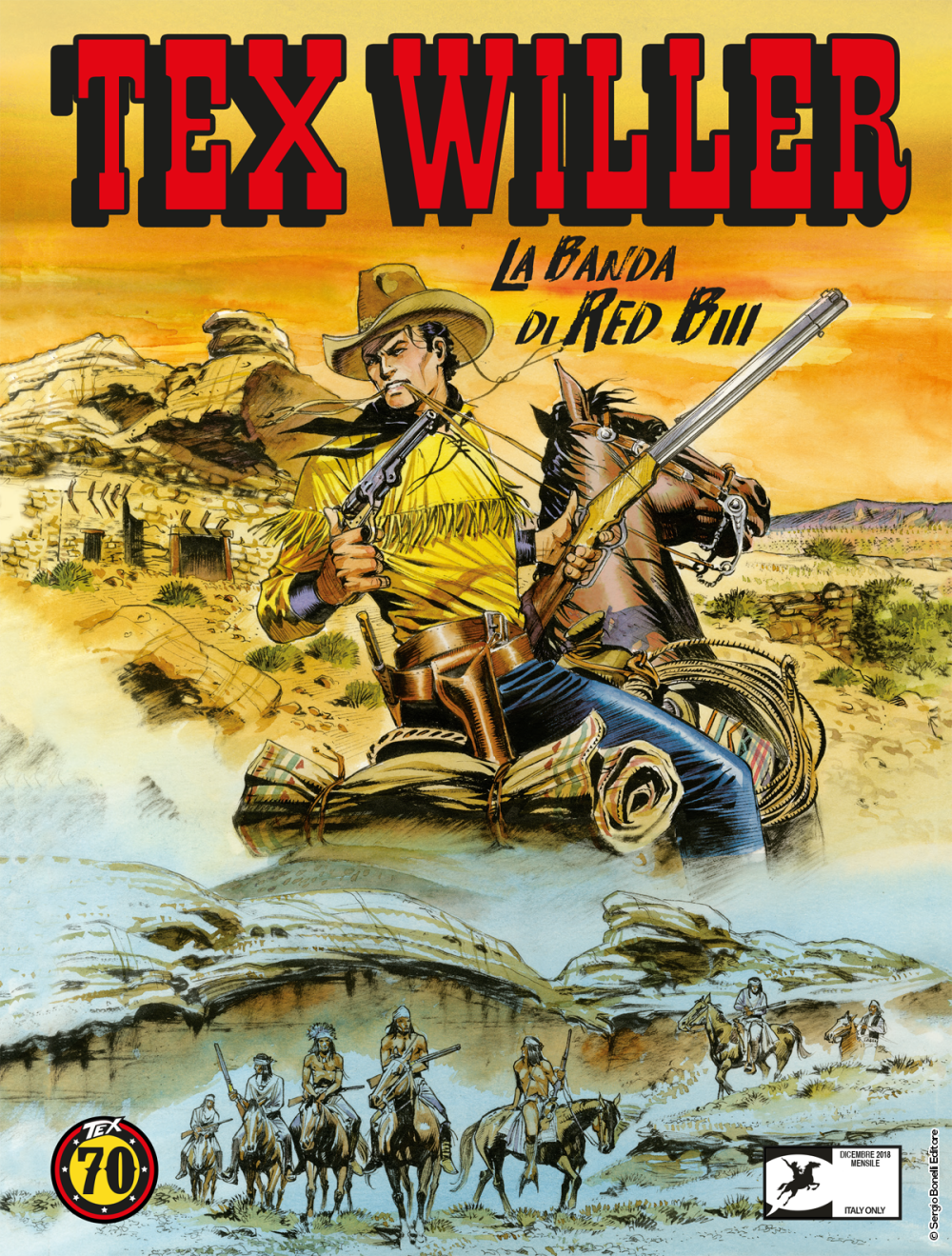 Tex Willer. La banda di Red Bill
