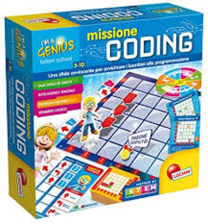 I'm a genius. Missione coding